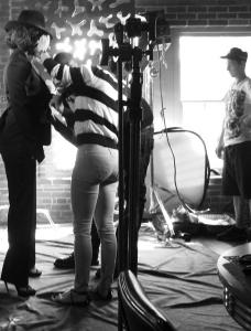 viola davis backstage