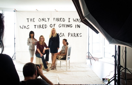 Power Women 2012 Backstage