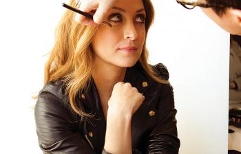 sasha alexander backstage