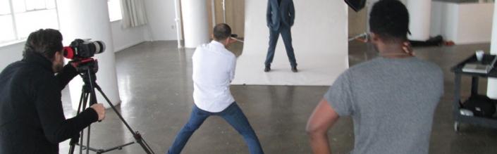 Josh Duhamel backstage