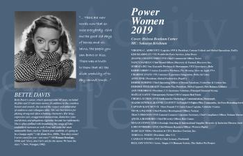 POWER WOMEN 2019