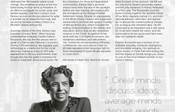 Eleanor Roosevelt - Power Woman Personified