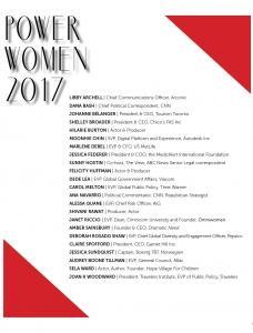 Power Women 2017